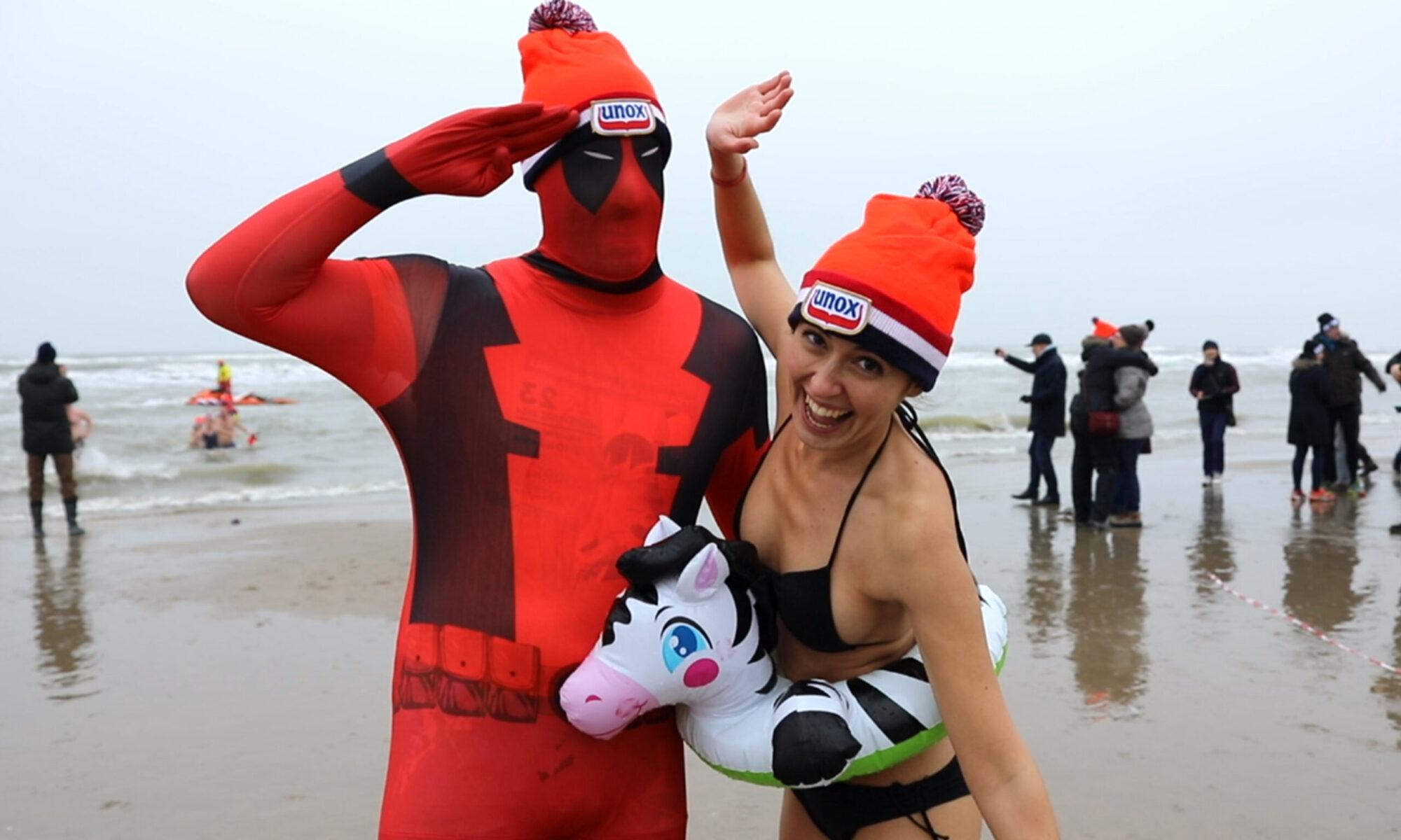 Nieuwjaarsduik Zandvoort 2021